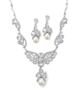Scroll Bridal Necklace Set